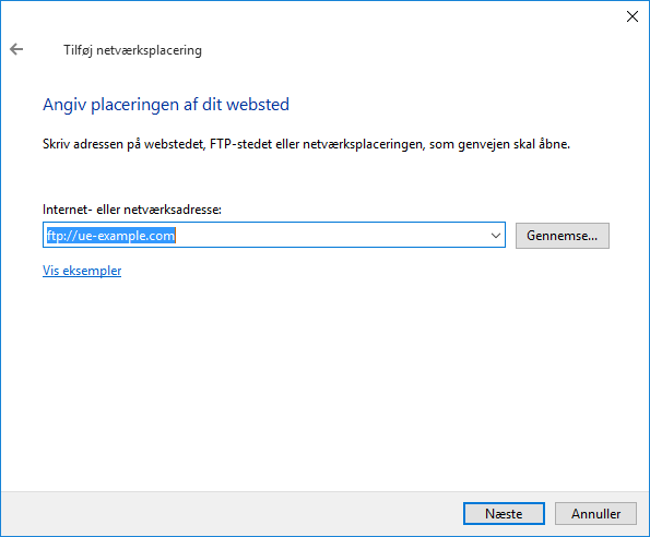 Setting up FTP connection in Windows 10 - Support articles